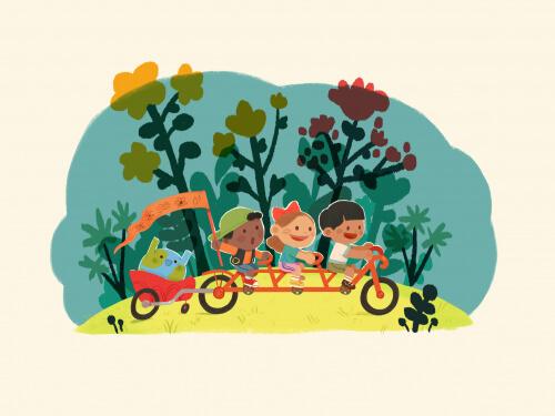 Children For Earth - Bike For The Future