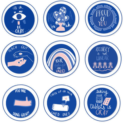Self-care Badges