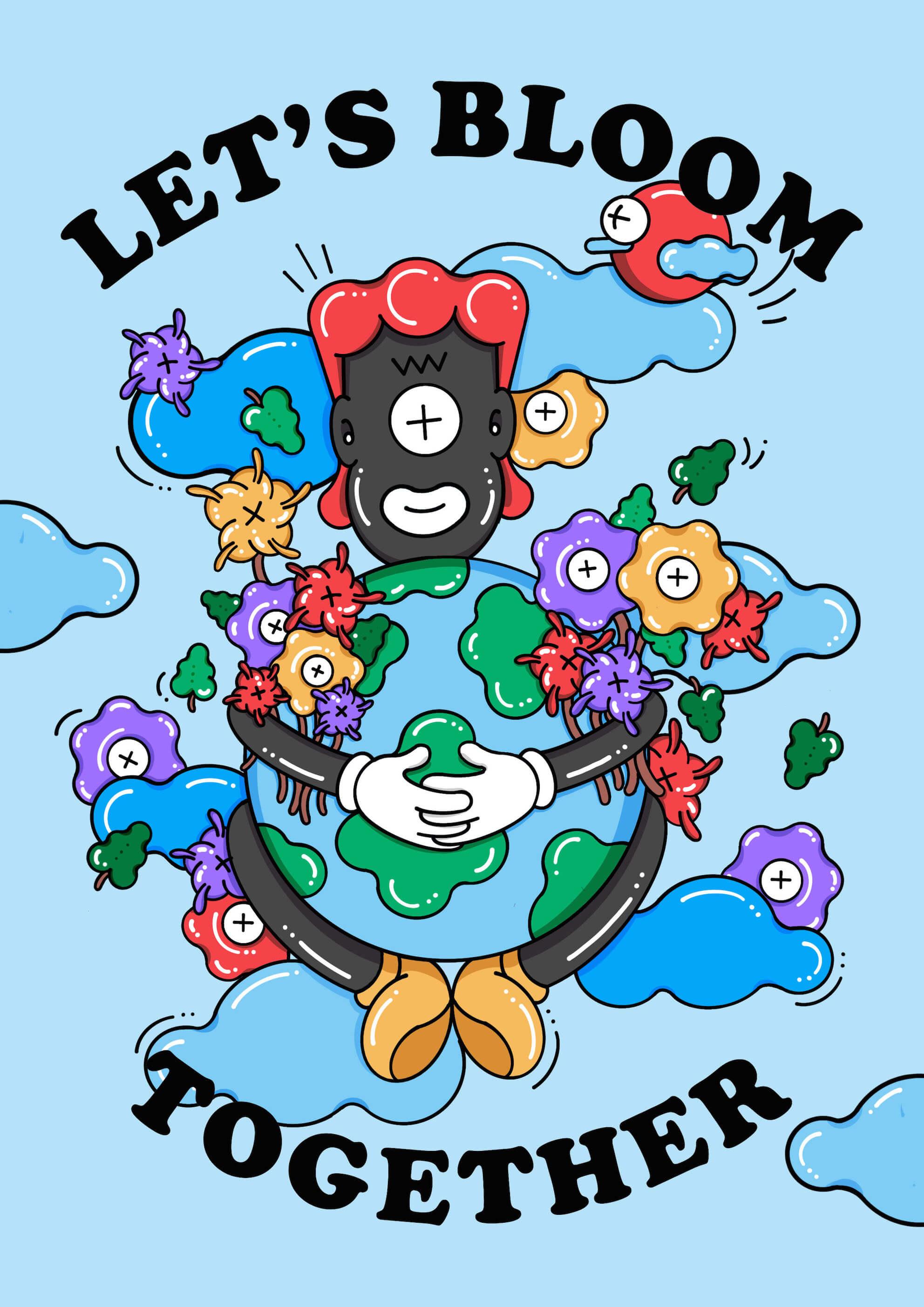 Let's Bloom Together main image