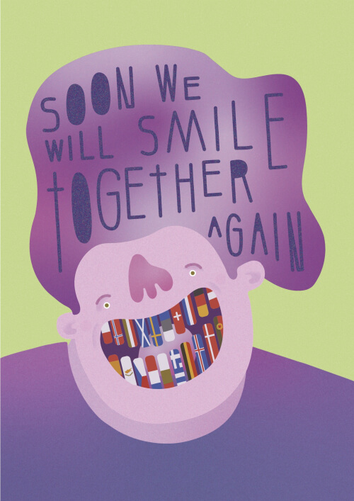 Soon We Will Smile Together Again