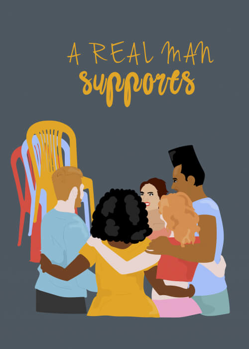 A Real Man Supports