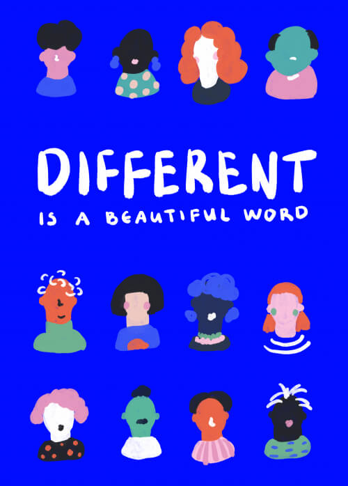 Different Is A Beautiful Word