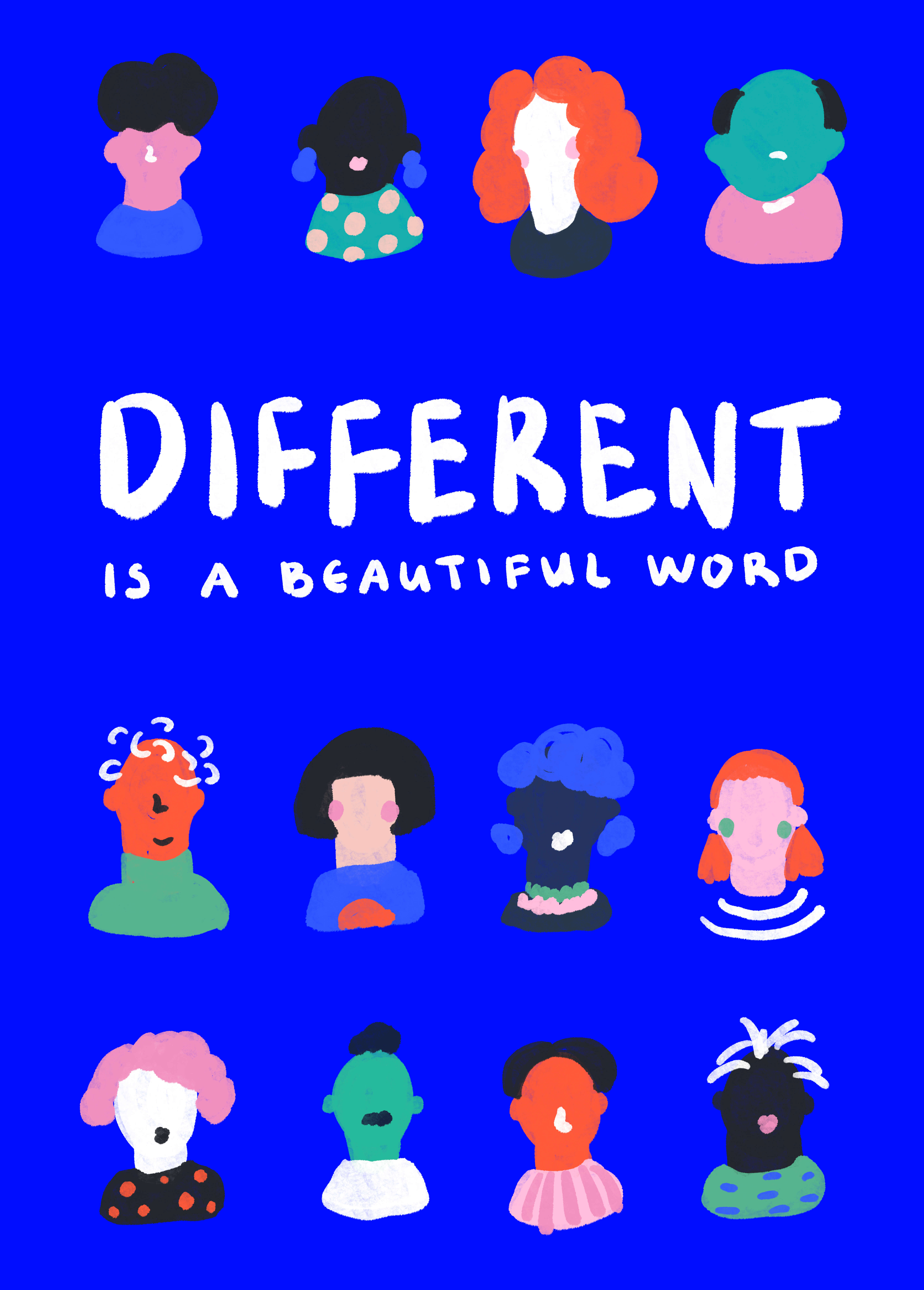 Different Is A Beautiful Word main image