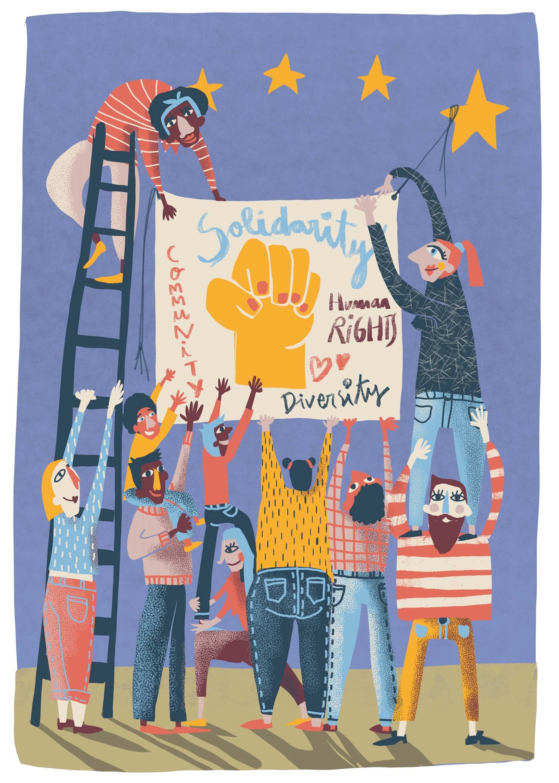 Solidarity Banner main image