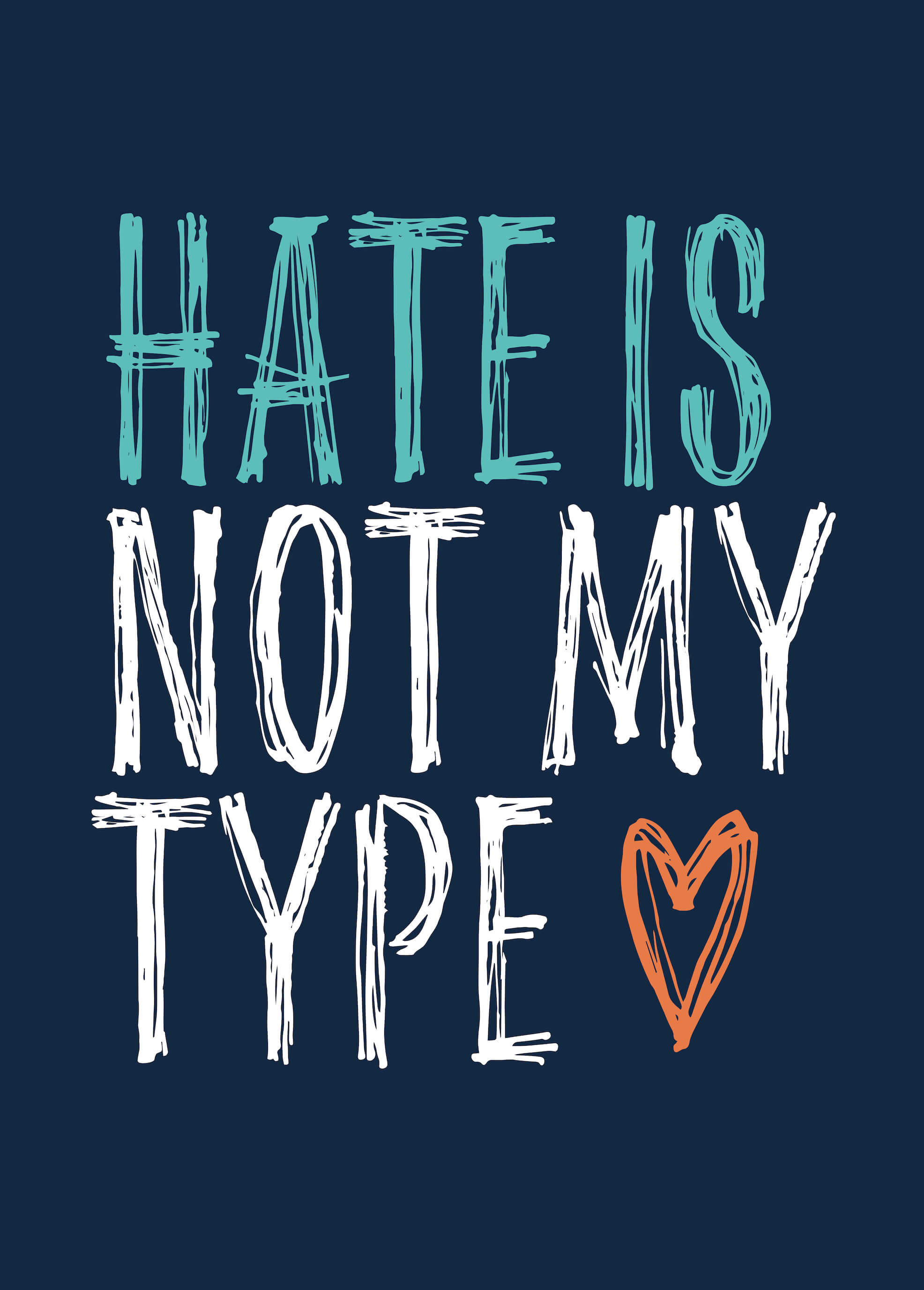 Hate Is Not My Type main image