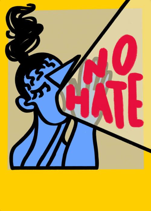 No Hate (color series)
