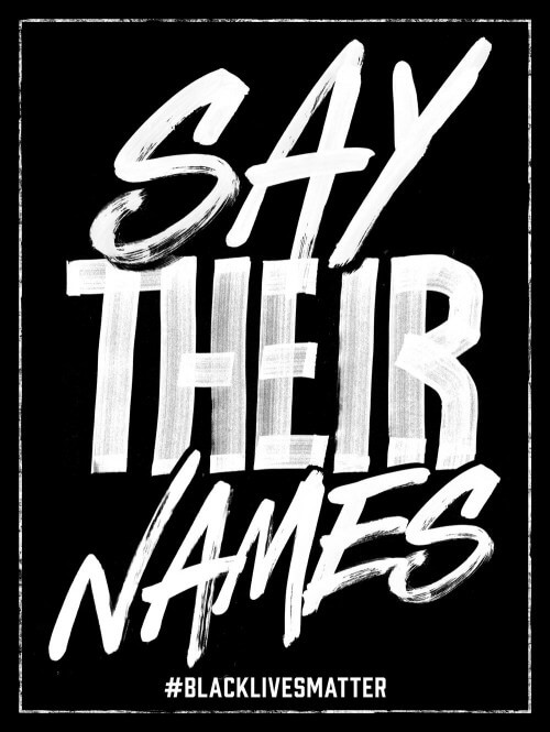 Say Their Names (series, 1/2)
