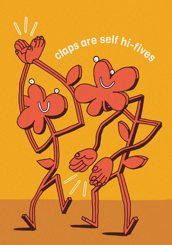 Claps Are Self Hi-fives main image