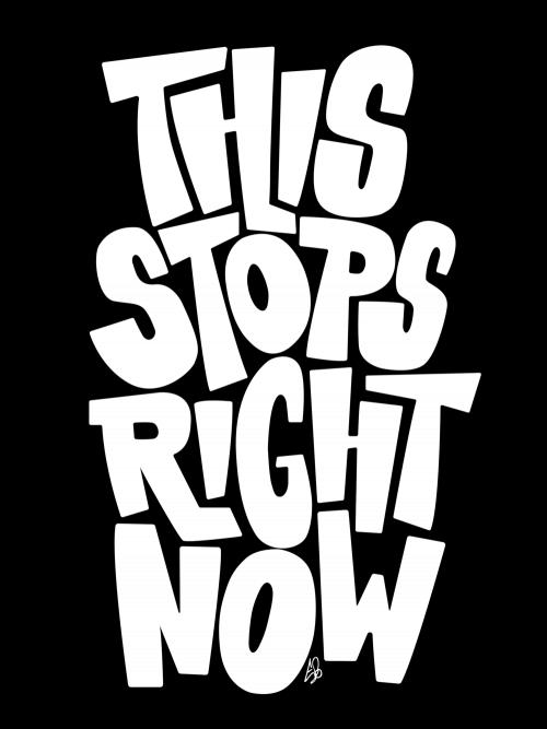 This Stops Right Now (series, 1/2)