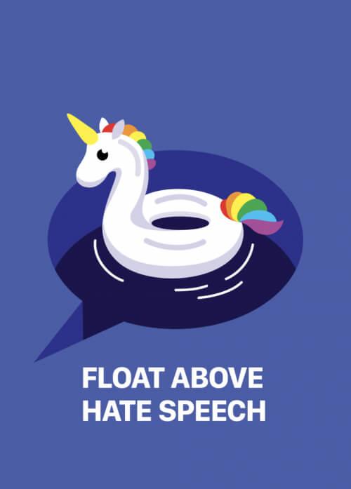 Float Above Hate Speech (series 2/2)