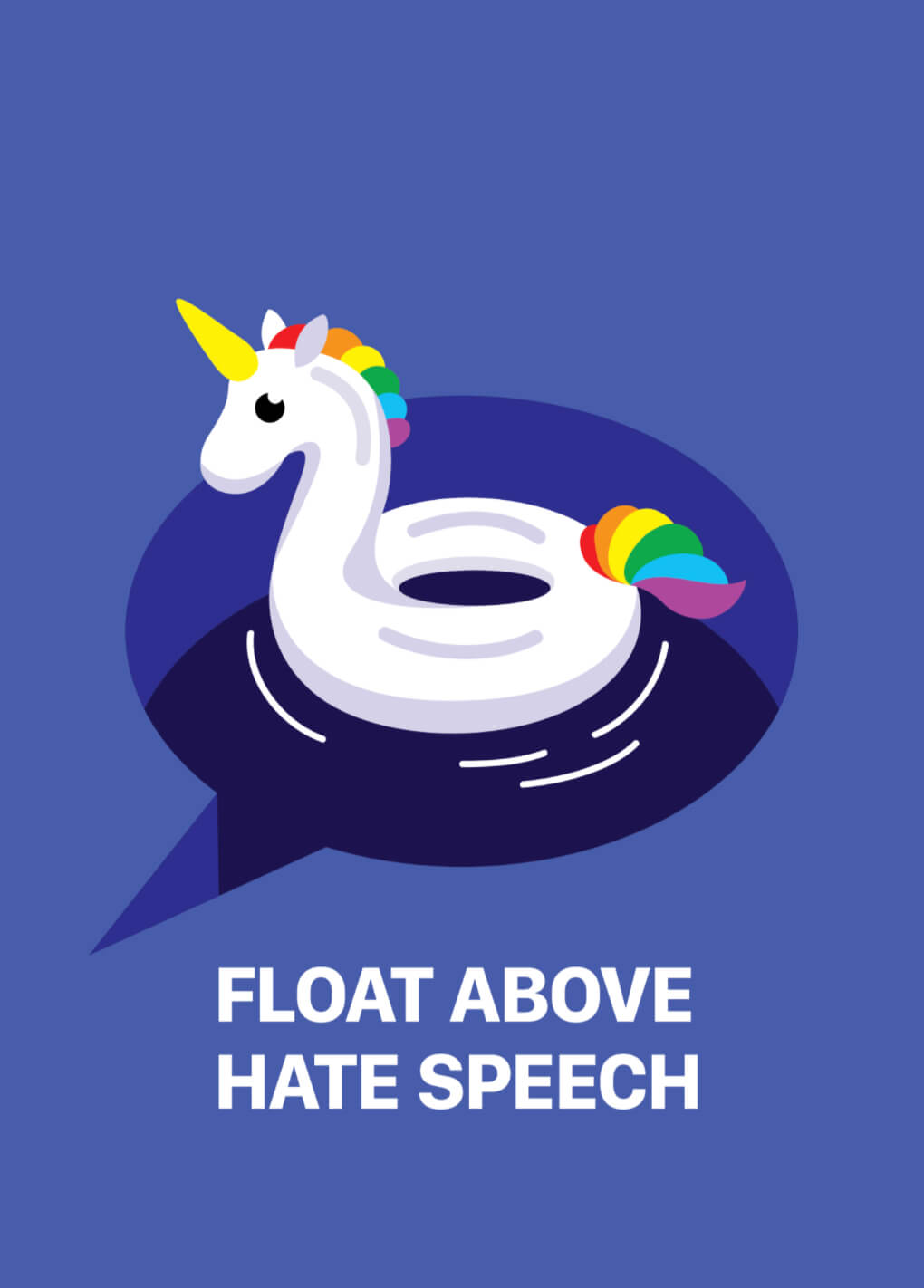 Float Above Hate Speech (series 2/2) main image