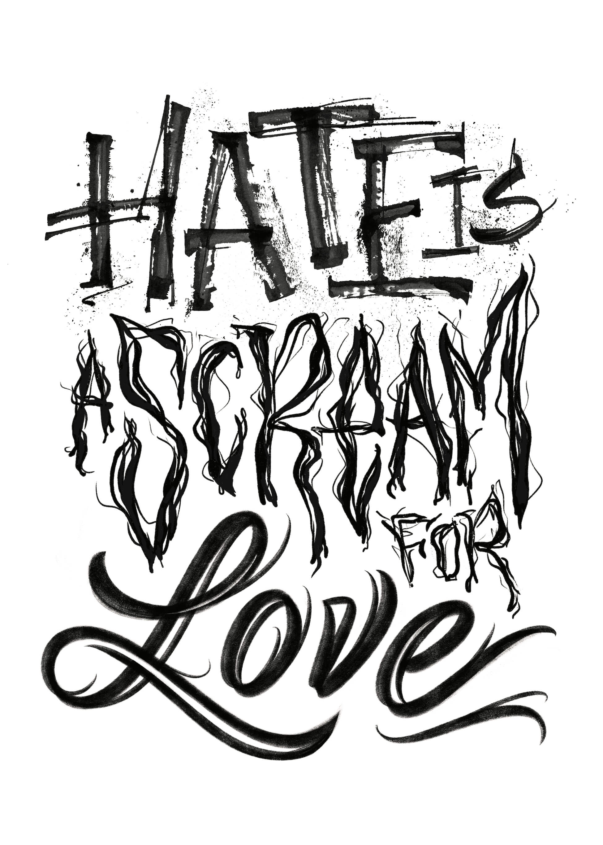 Hate Is A Scream For Love main image