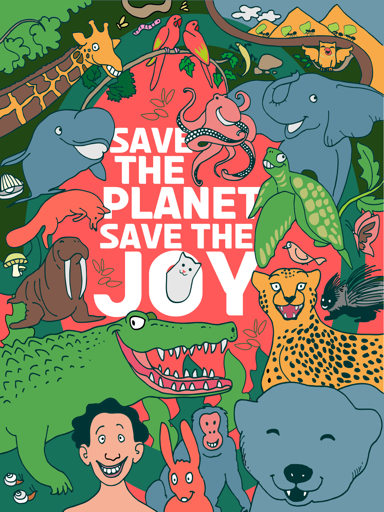 Save The Planet, Save The Joy main image
