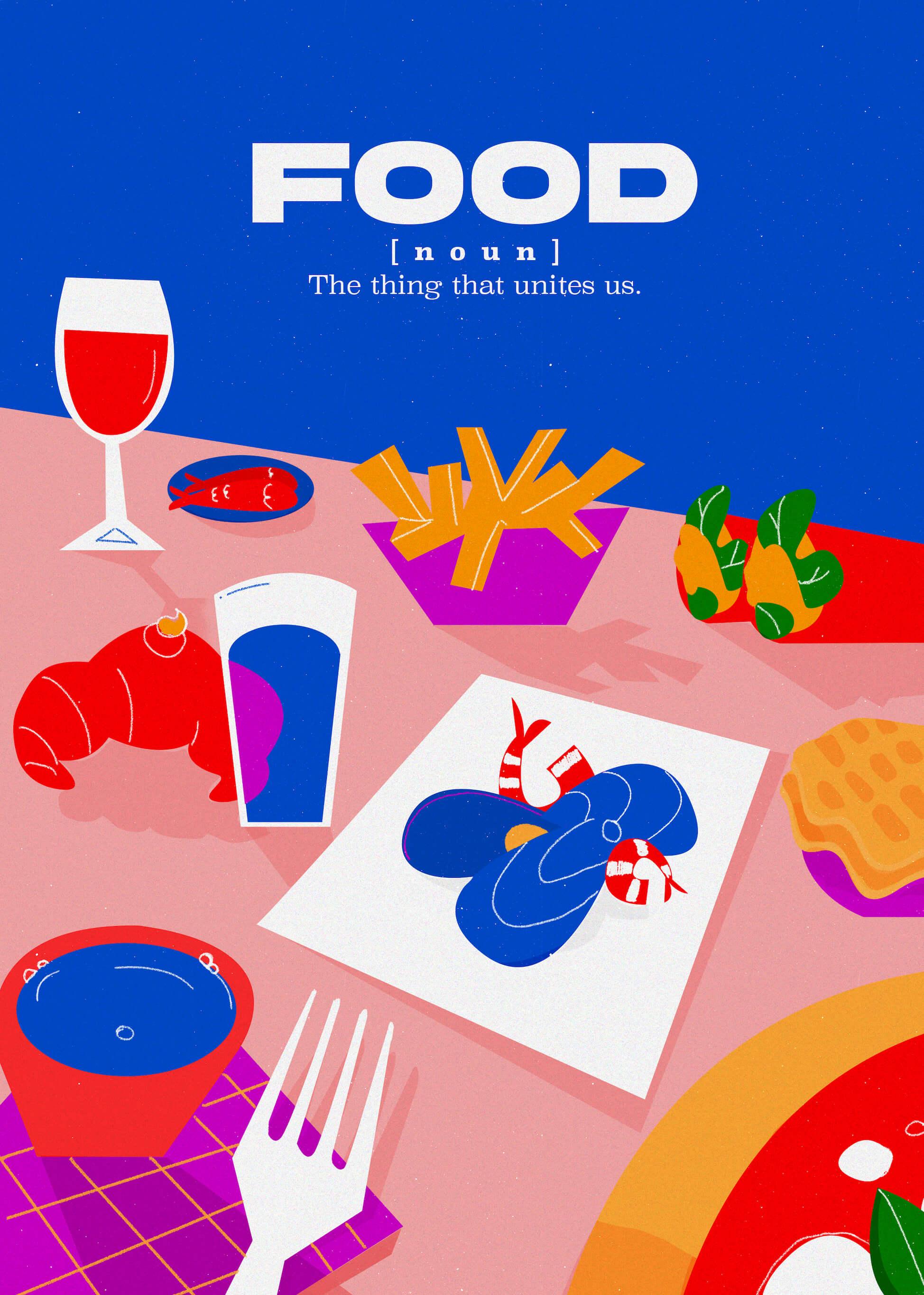Food - The Thing That Unites Us main image