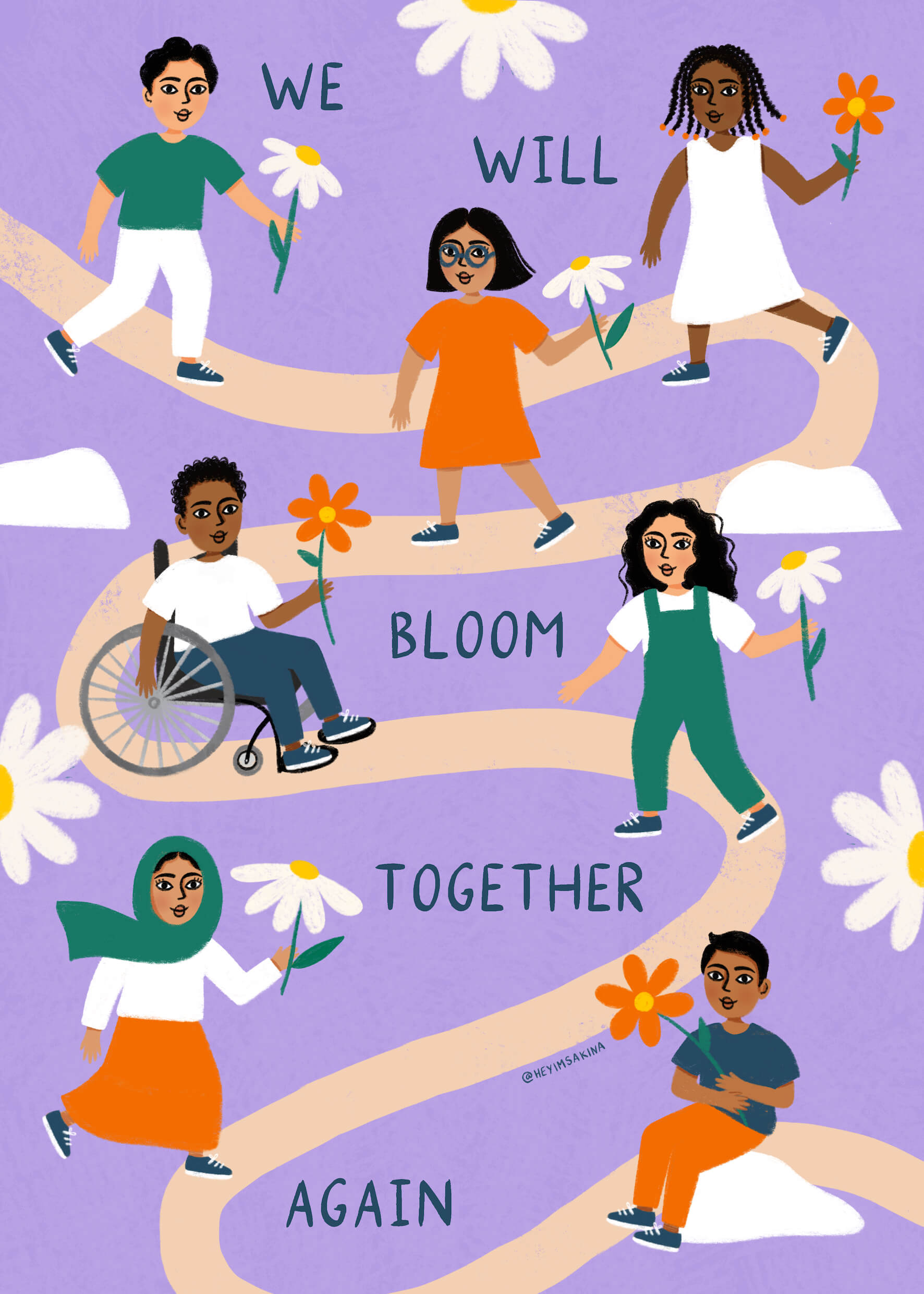 We Will Bloom Together Again main image