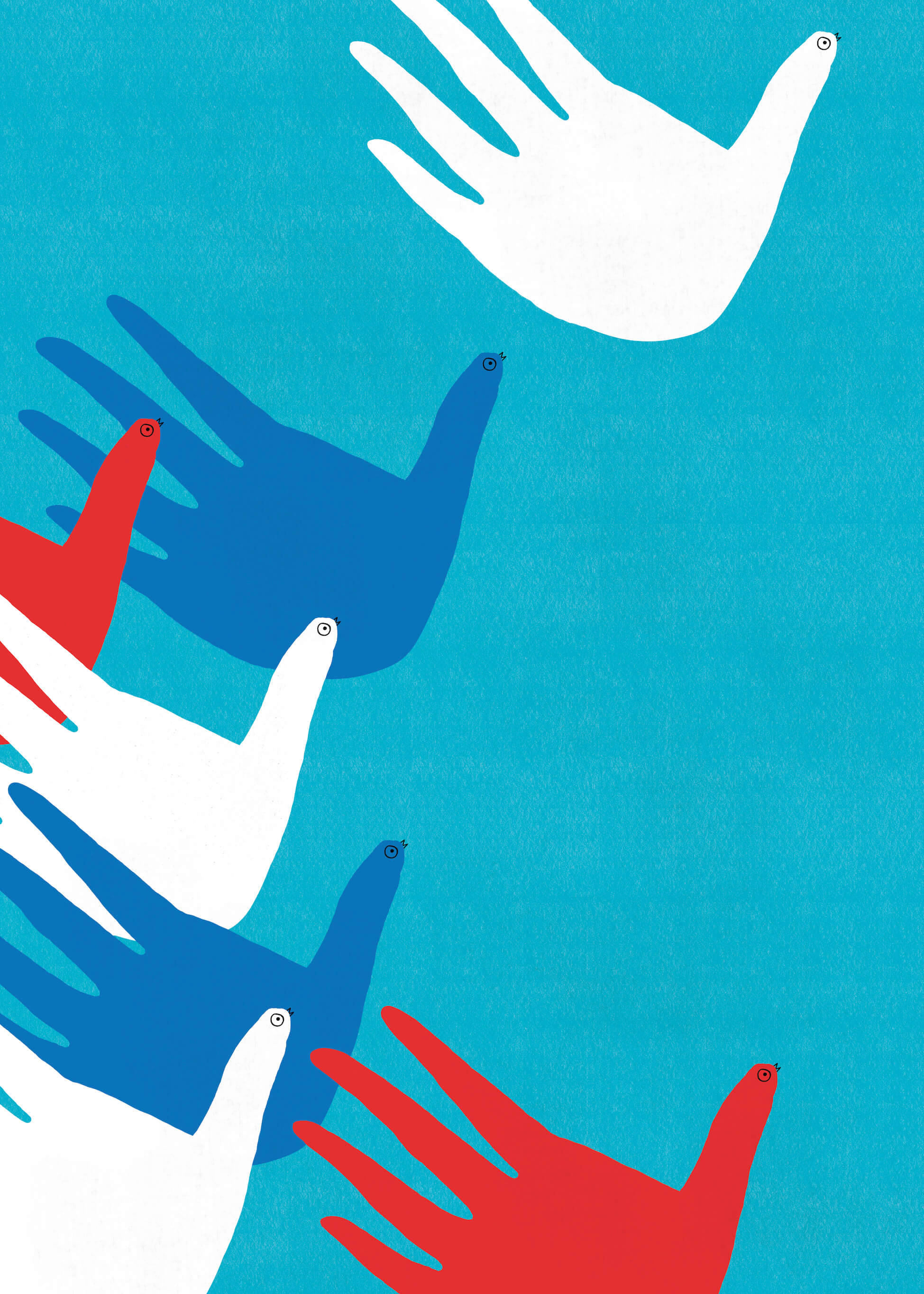 Our Future Is In Our Hands (color series) main image