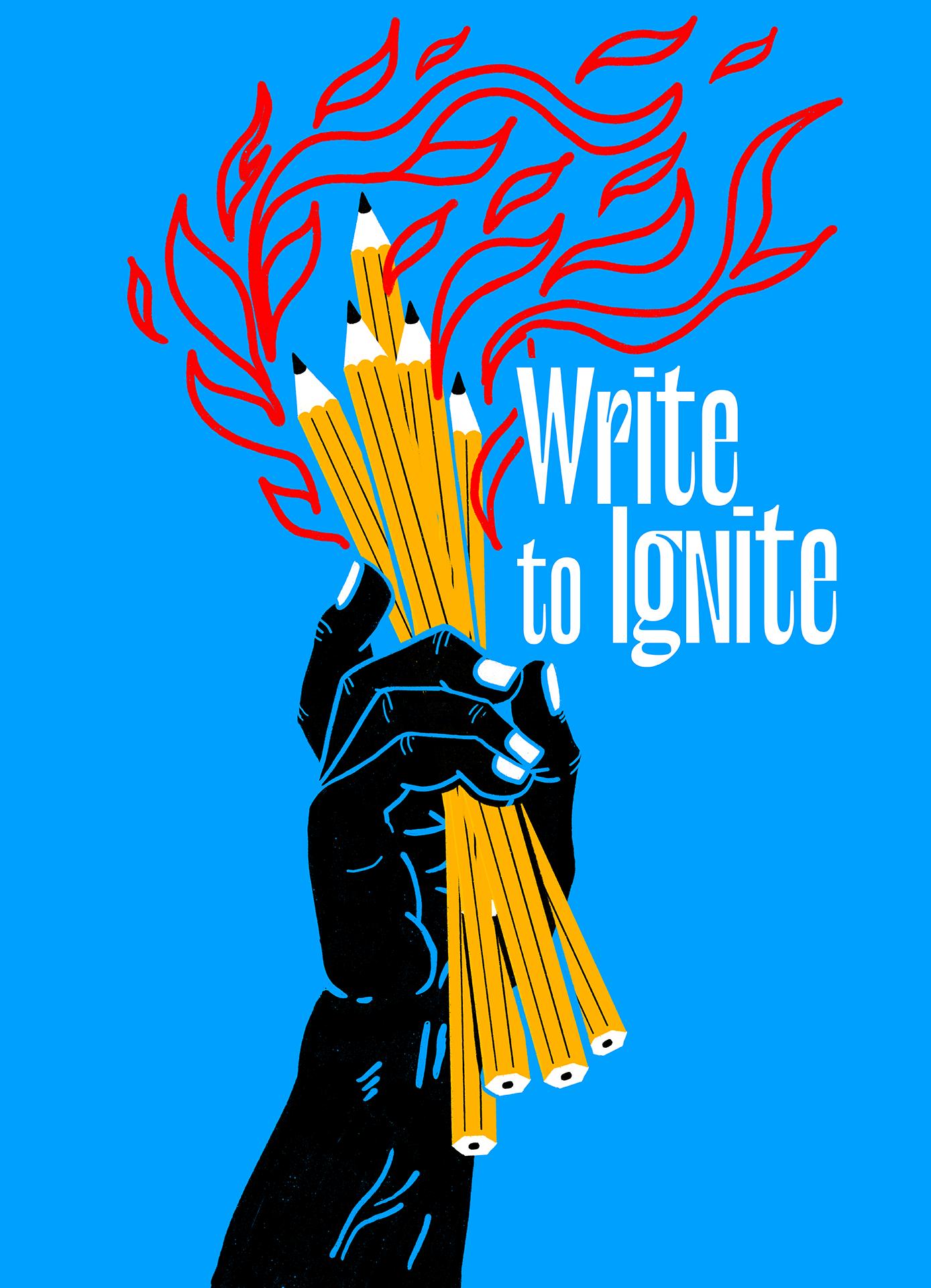 Write To Ignite (blue) main image
