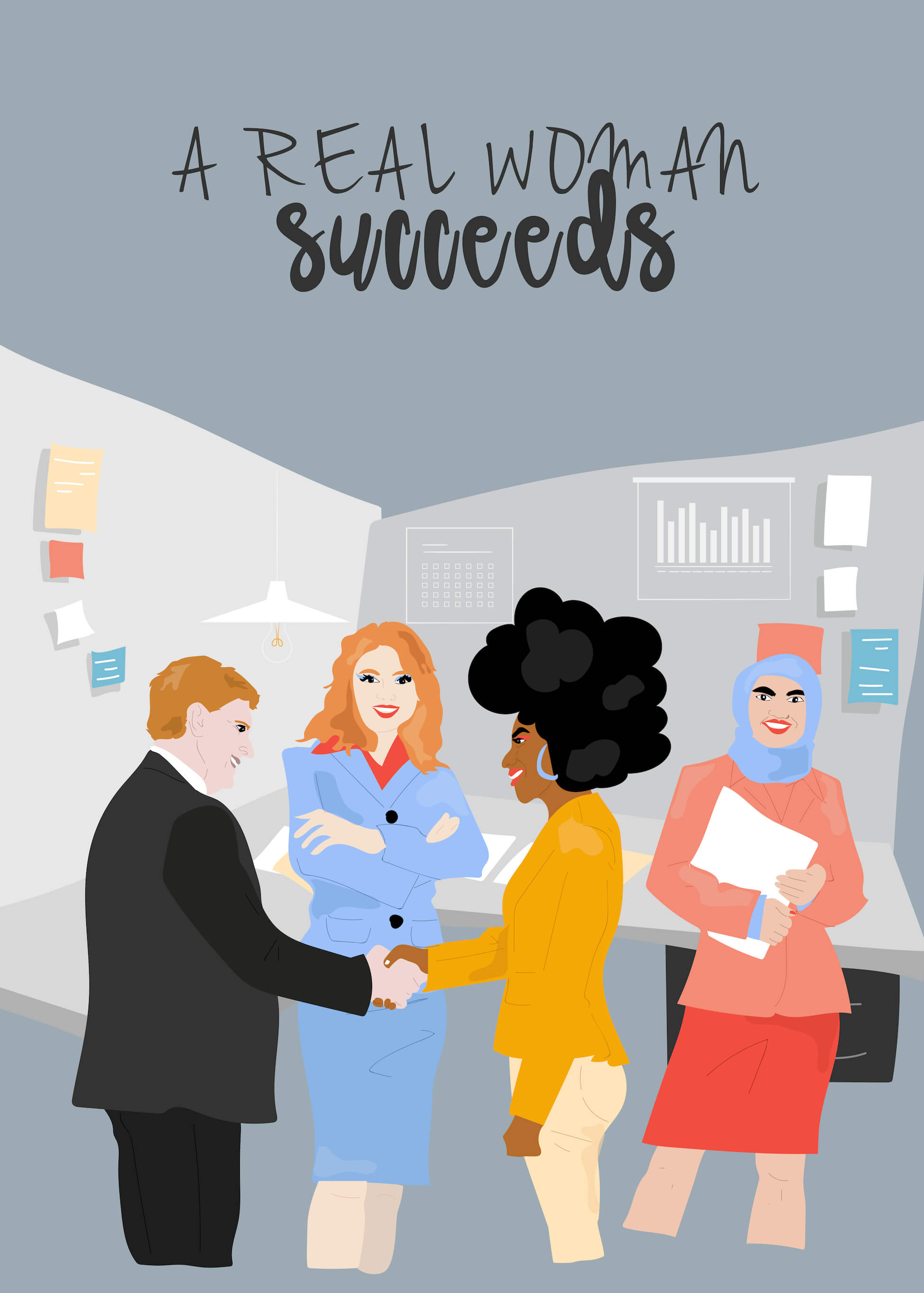 A Real Woman Succeeds main image