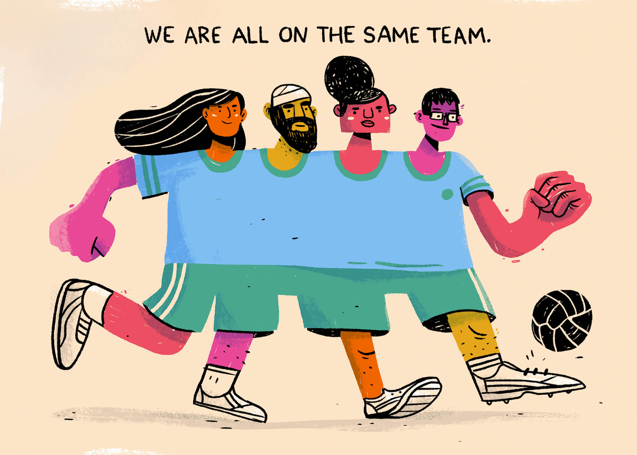 We Are All On The Same Team main image