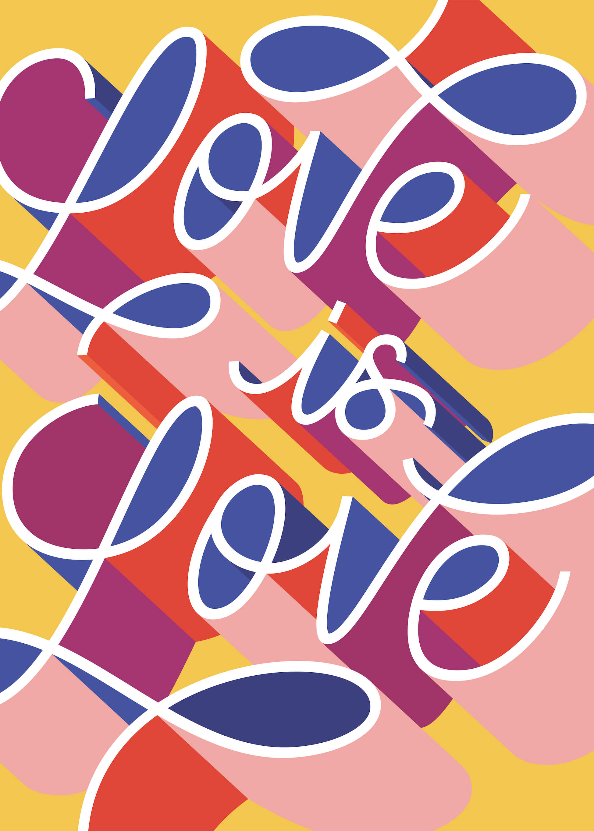 Love Is Love (lettering) main image