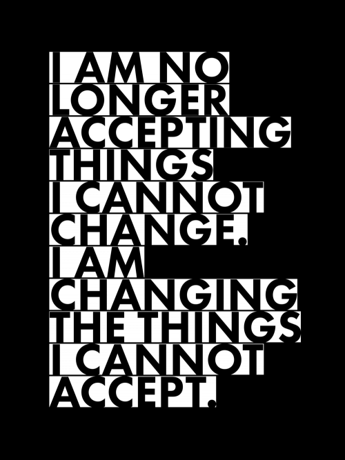 Changing The Things