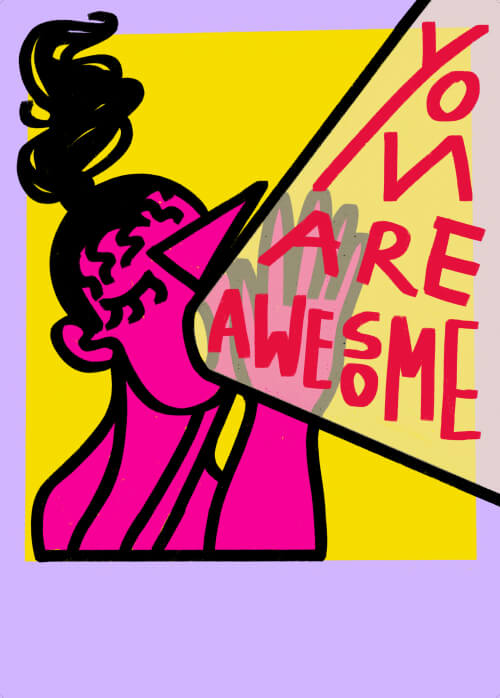 You Are Awesome (color series)