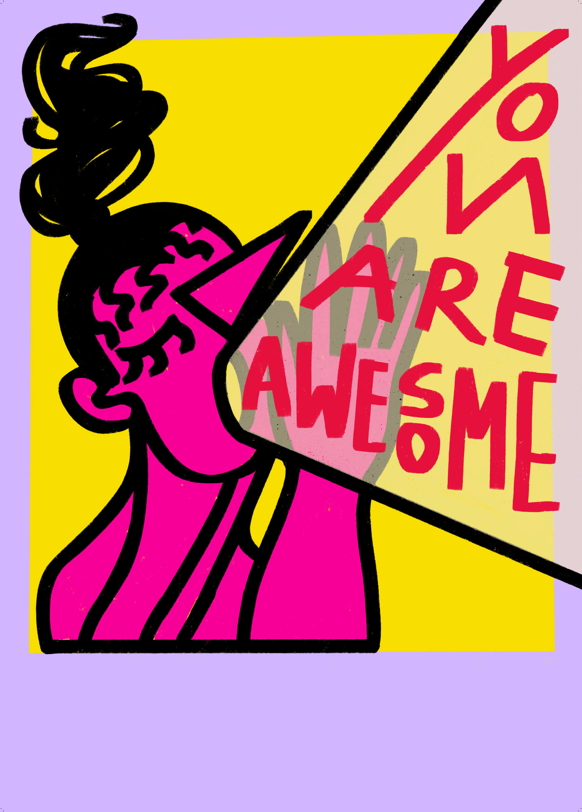 You Are Awesome (color series) main image