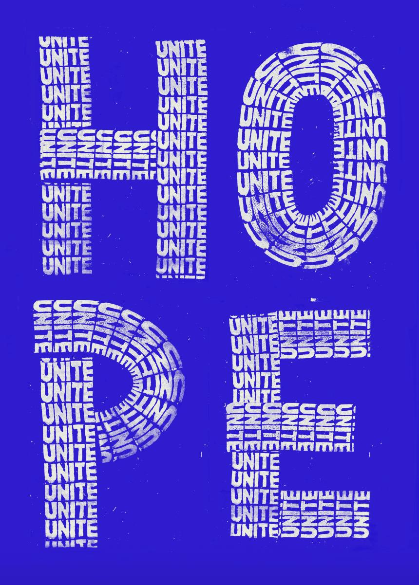Hope Unite (blue) main image