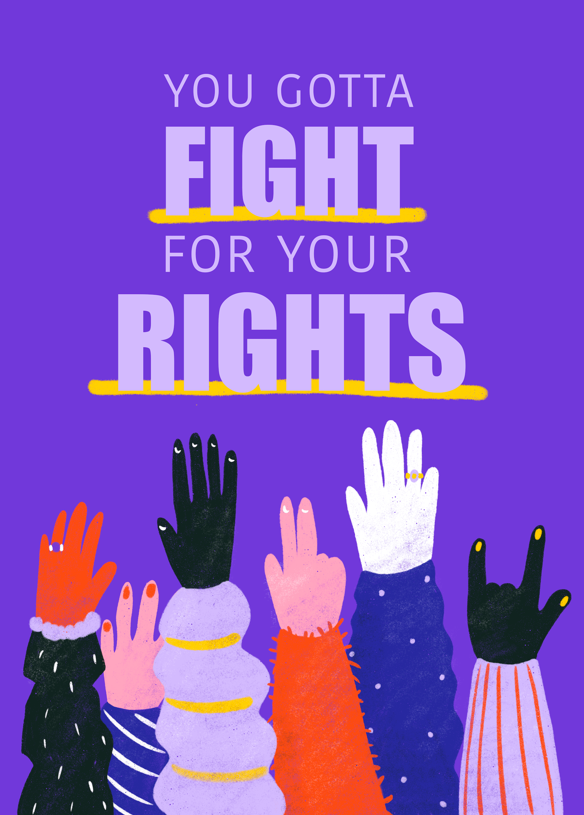 You Gotta Fight For Your Rights main image