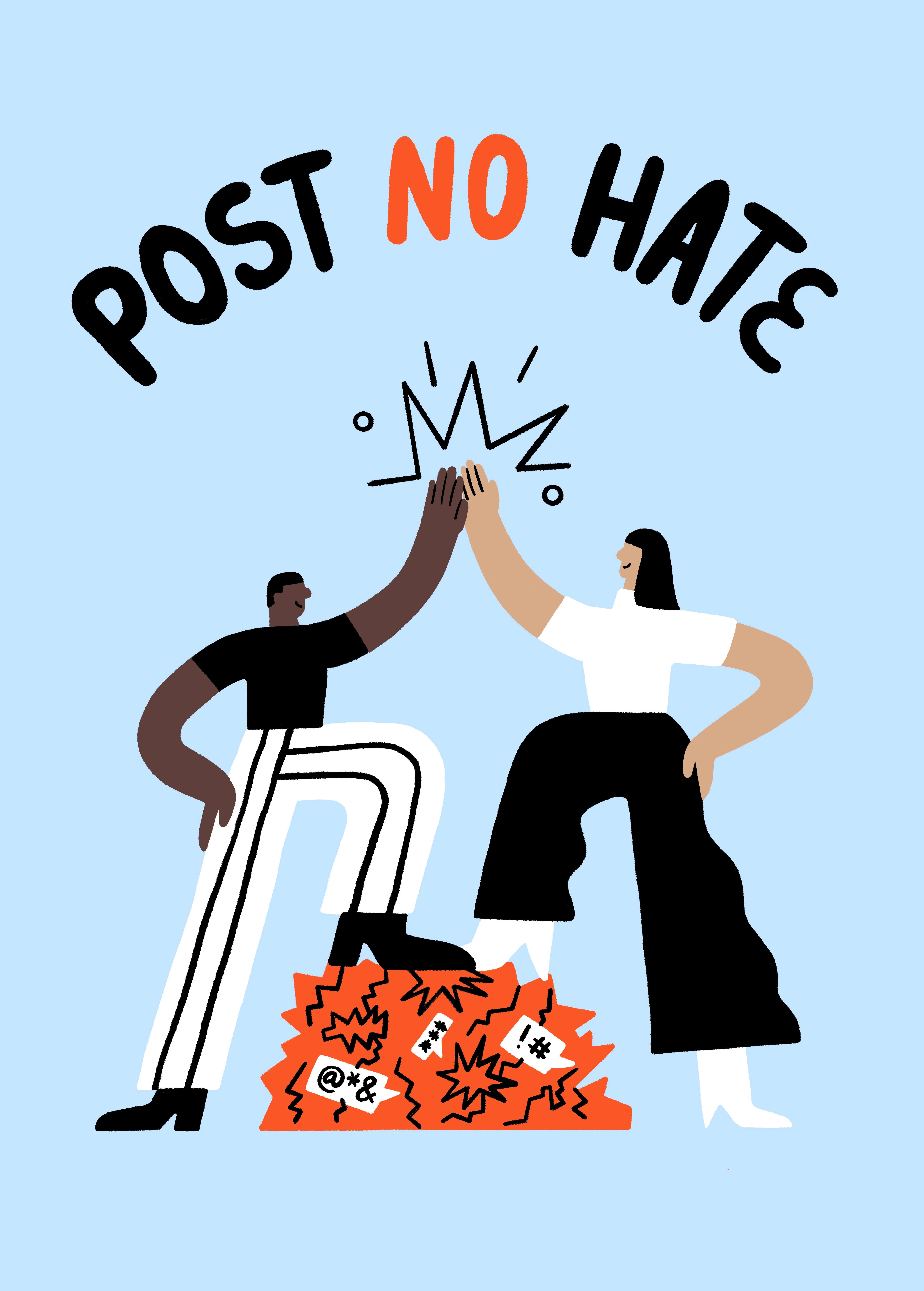 Post No Hate main image