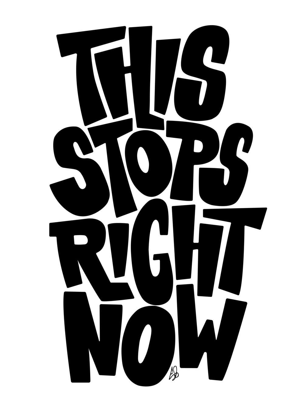 This Stops Right Now (series, 2/2) main image