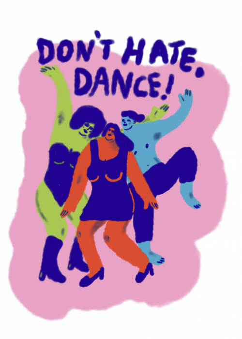 Don't Hate - Dance