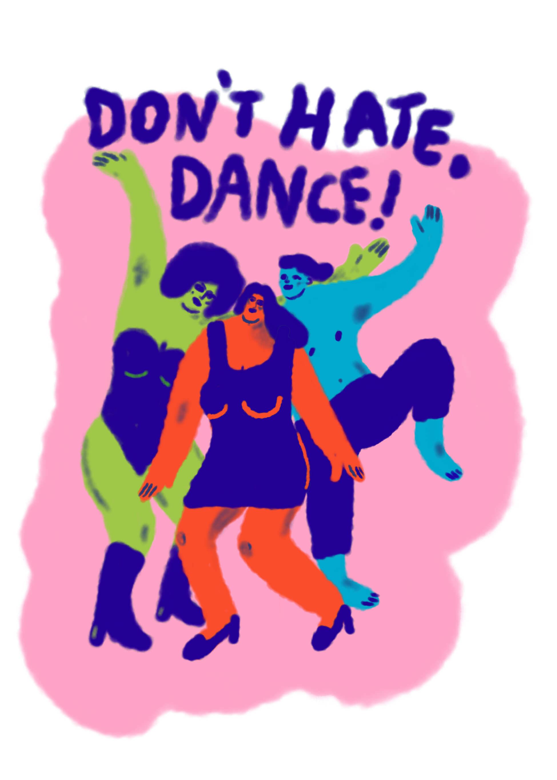 Don't Hate - Dance main image