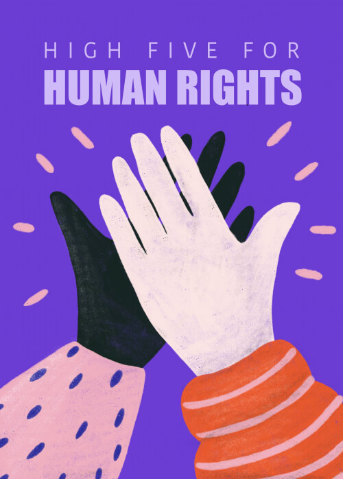 High Five For Human Rights