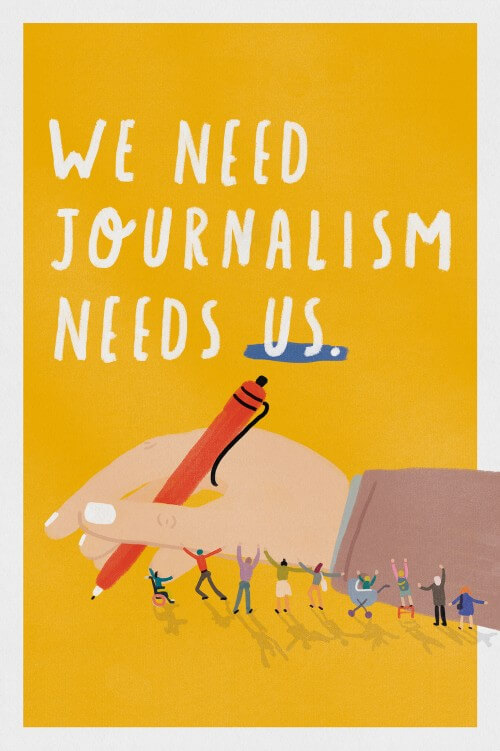 We Need Journalism (series, 1/3)