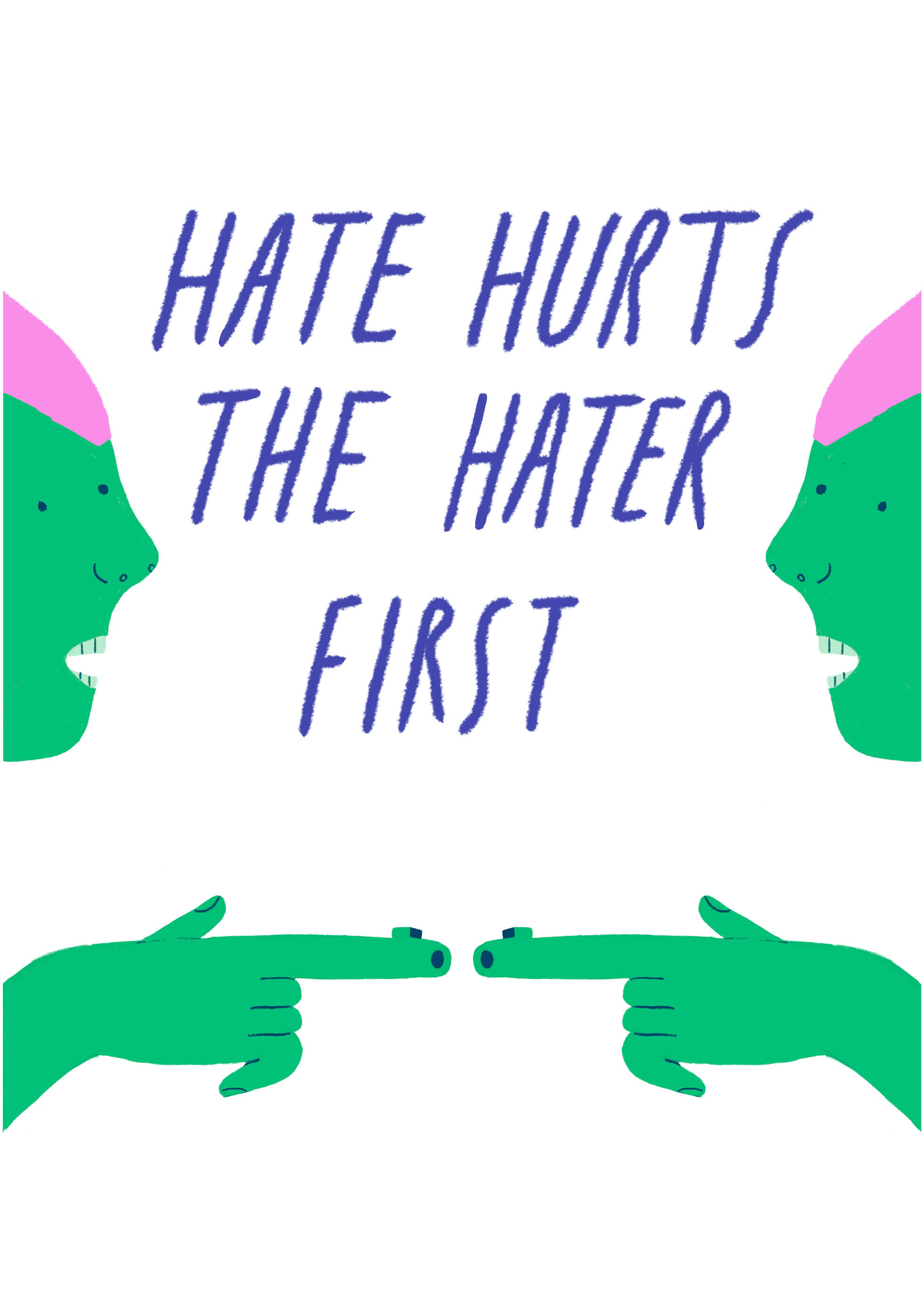 Hate Hurts The Hater First main image