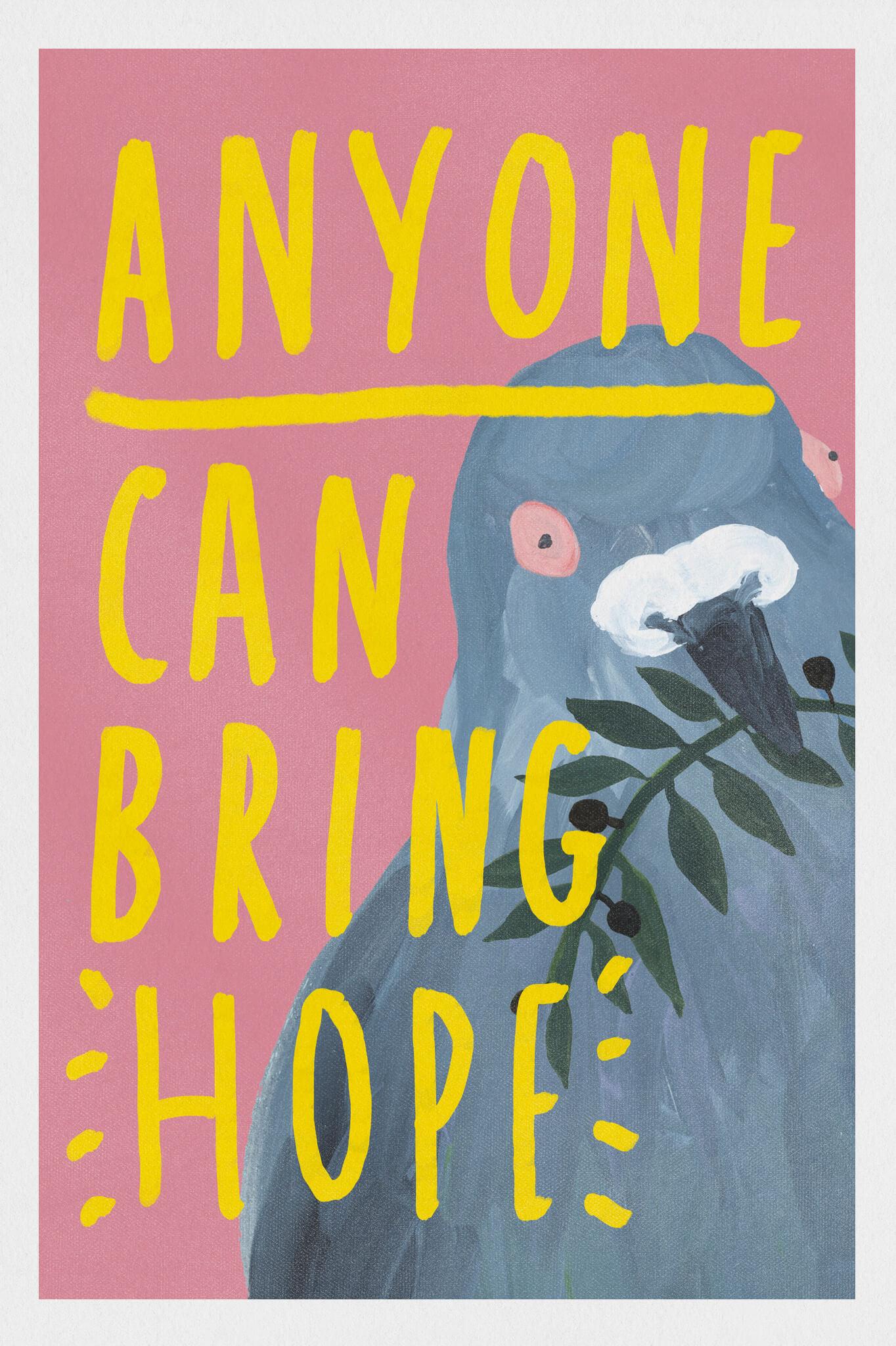 Anyone Can Bring Hope main image
