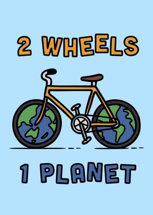 2 Wheels 1 Planet