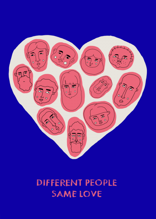 Different People Same Love (series 1/2)