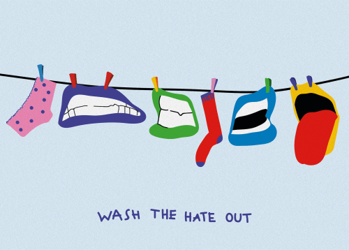 Wash The Hate Out